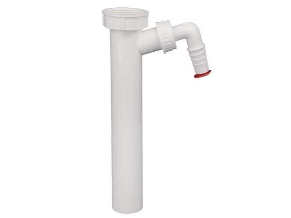 HL13/40 Патрубок DN40х6/4″ с подсоединением для стиральной или посудомоечной машины (шт.)