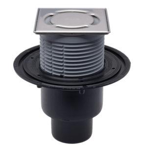 HL310NPr-3000 Трап DN 50/75/110 верт. запахозапирающим устройством Primus (шт.)