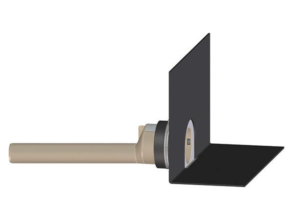 HL68H.0/50 Парапетная воронка с фартуком из полимербитумного материала и отводною трубой из ПП DN (шт.)