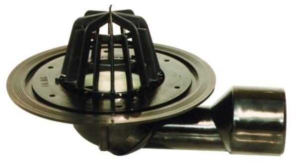 HL80.3 Трап DN50/75 для кровли поворотный с листоулавливателем (шт.)