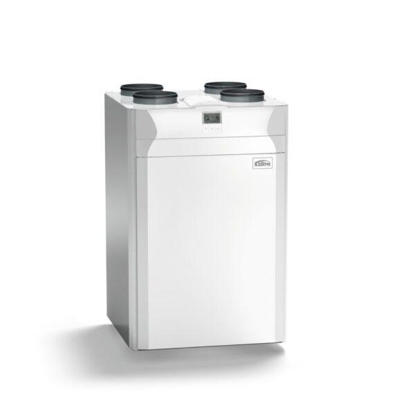 Вентиляционная установка с рекуперацией тепла и с ентальпийным теплообменником Kermi X-well S370 E